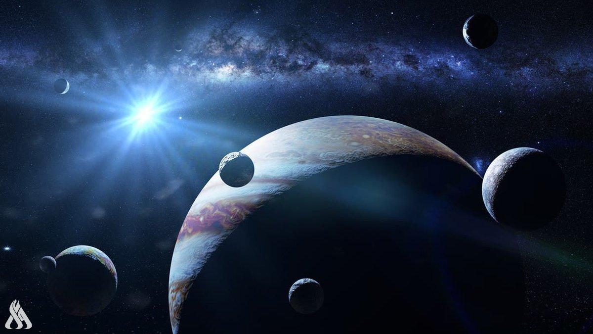العلماء يرصدون ولادة قمر خارج النظام الشمسي
