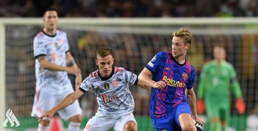 البايرن يسحق برشلونة بثلاثية نظيفة في دوري الأبطال
