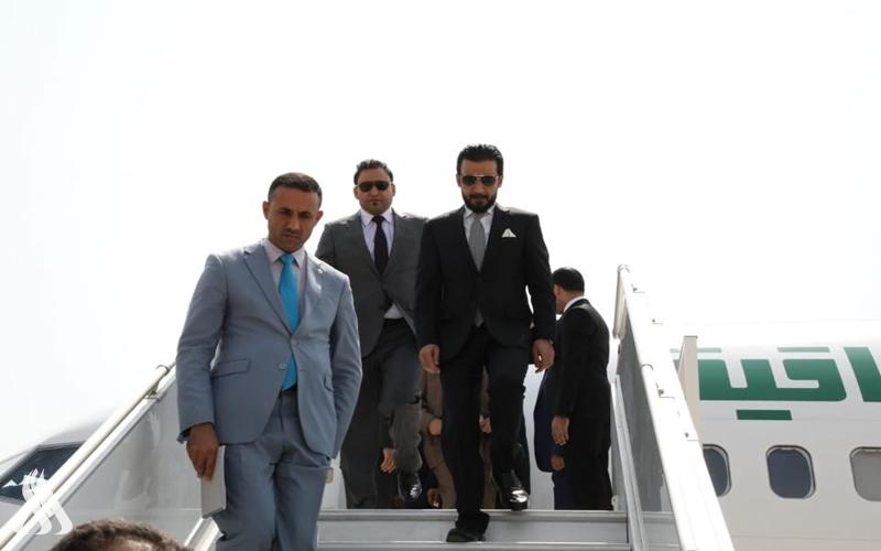 الحلبوسي يصل الى القاهرة في زيارة رسمية